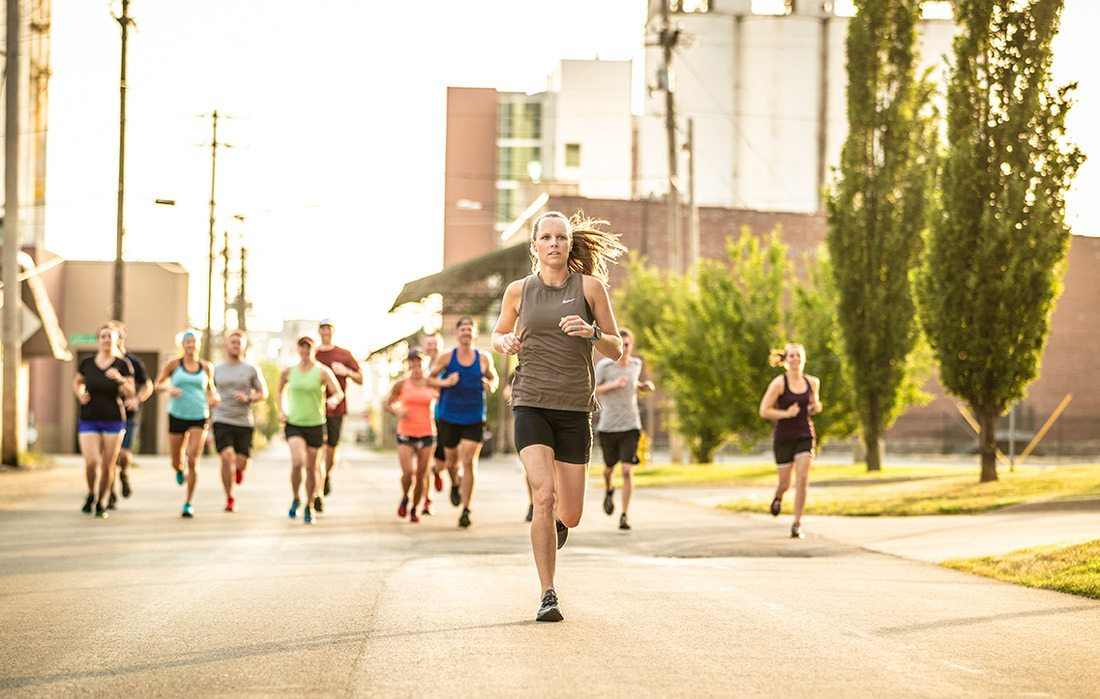 Kelley Anderson running photo