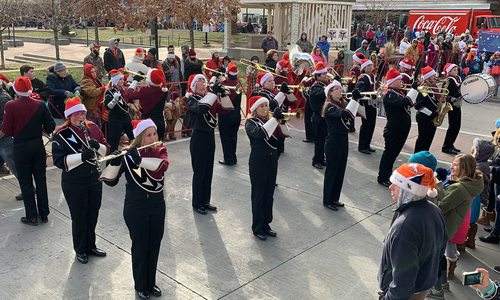 Christmas Parade in Downtown Springfield, MO