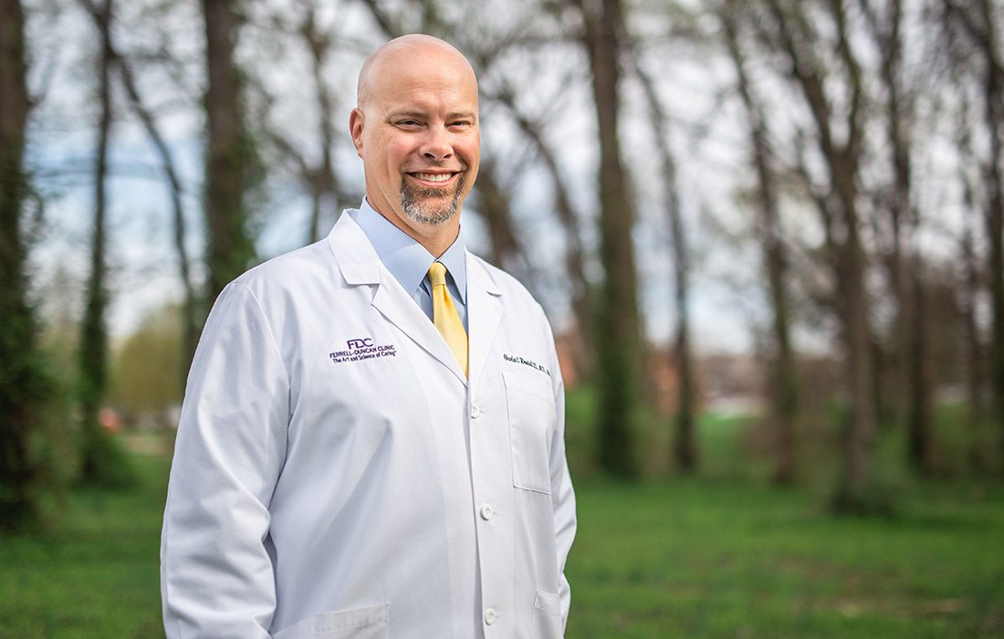 Charles E. Woodall, III, MD, MSC, FACS of Ferrell-Duncan Clinic in Springfield, Missouri