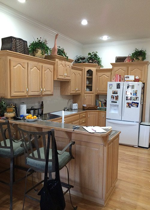 Kitchen Remodel by Gina McMurtrey in Springfield MO Before Image