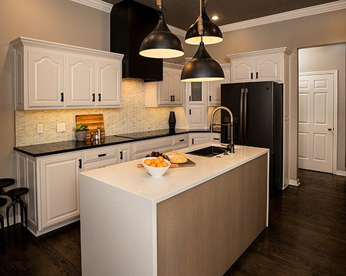 Kitchen Remodel by Gina McMurtrey Interiors in Springfield MO