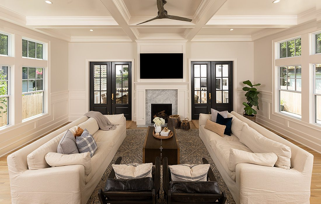 Dream Renovations - Rountree - HC Rogers Construction - Living Room - By Brandon Alms