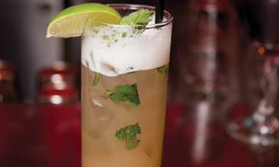 Ginger-Pineapple Mojito from Haruno Sushi Bar & Grill