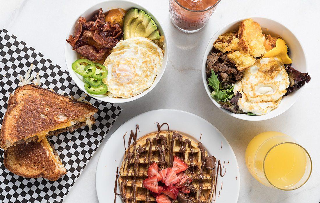 breakfast food spread