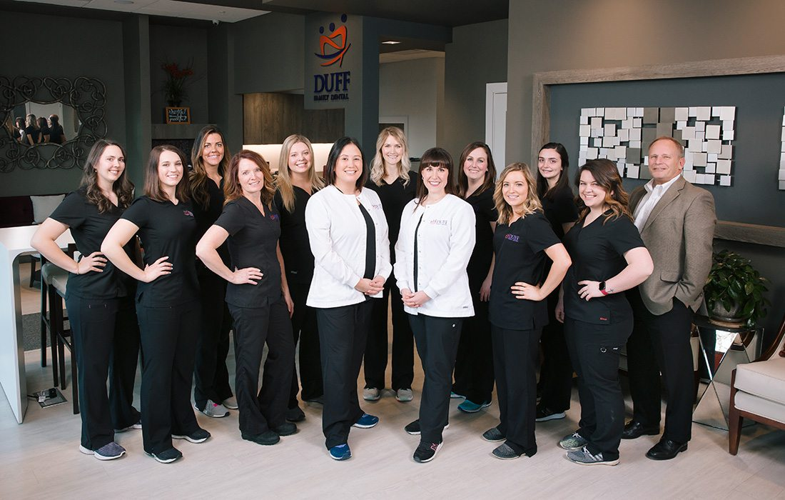 Duff Family Dental staff in Springfield MO