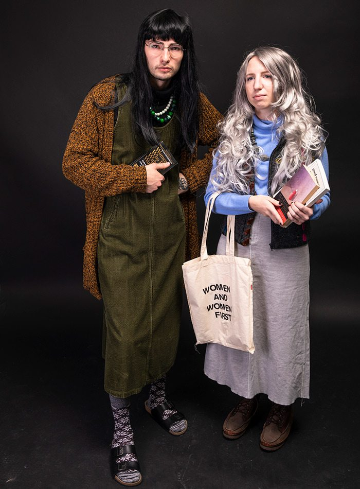 Dylan Lyle and Claire Porter Halloween 2019 costume