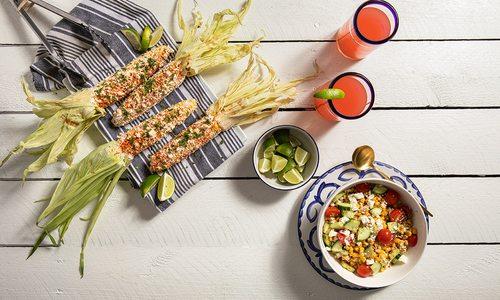 Elote and corn salad recipes