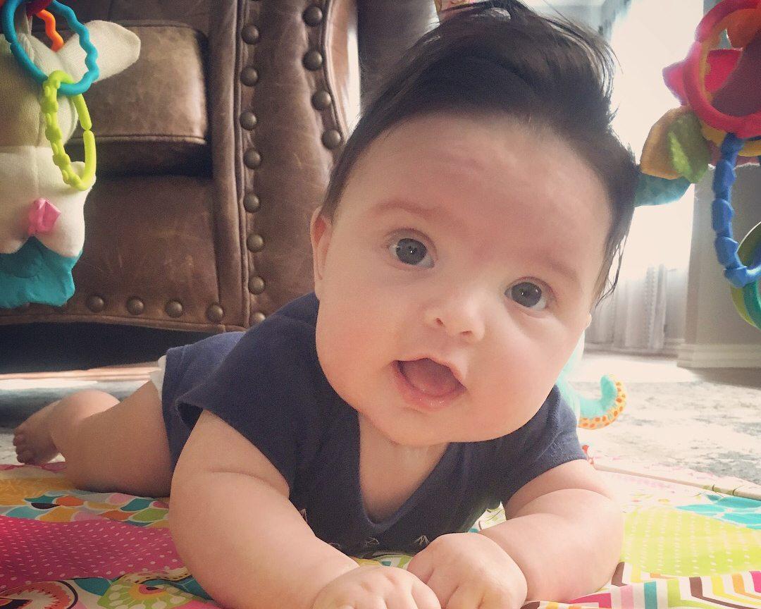 Elsie Clawson Cutest Baby Finalist