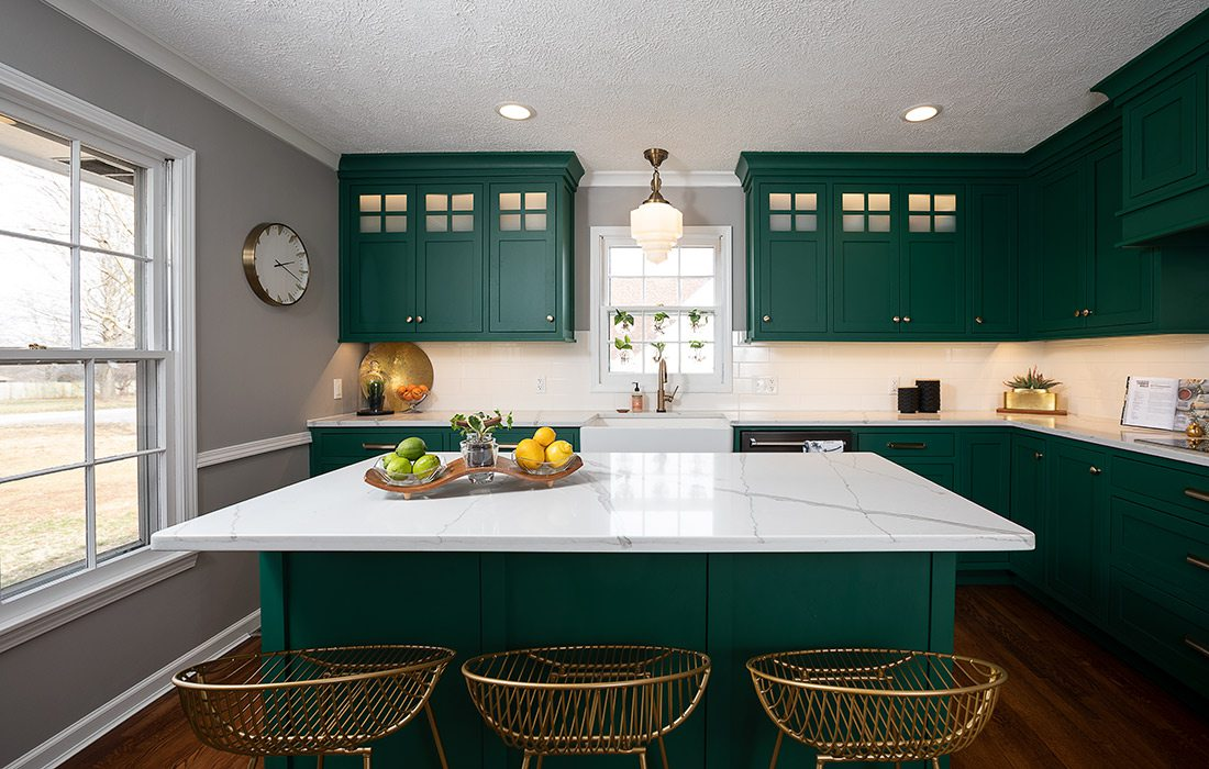 Emily Johnson - Colonial Renovation - Kitchen - By Brandon Alms