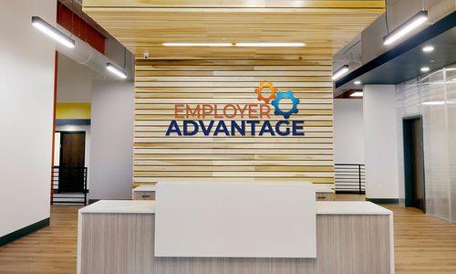 Employee Advantage interior front desk photo