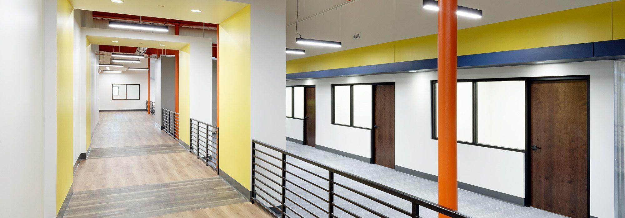 Employee Advantage interior hallway photo