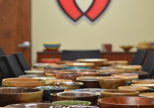 Empty Bowls at Panera Bread
