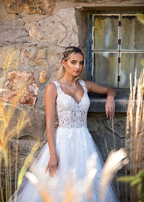 Ivory Alita gown from Norman's Bridal in Springfield MO