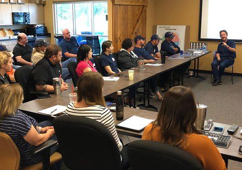 Environmental Works Inc. staff meeting in Springfield MO