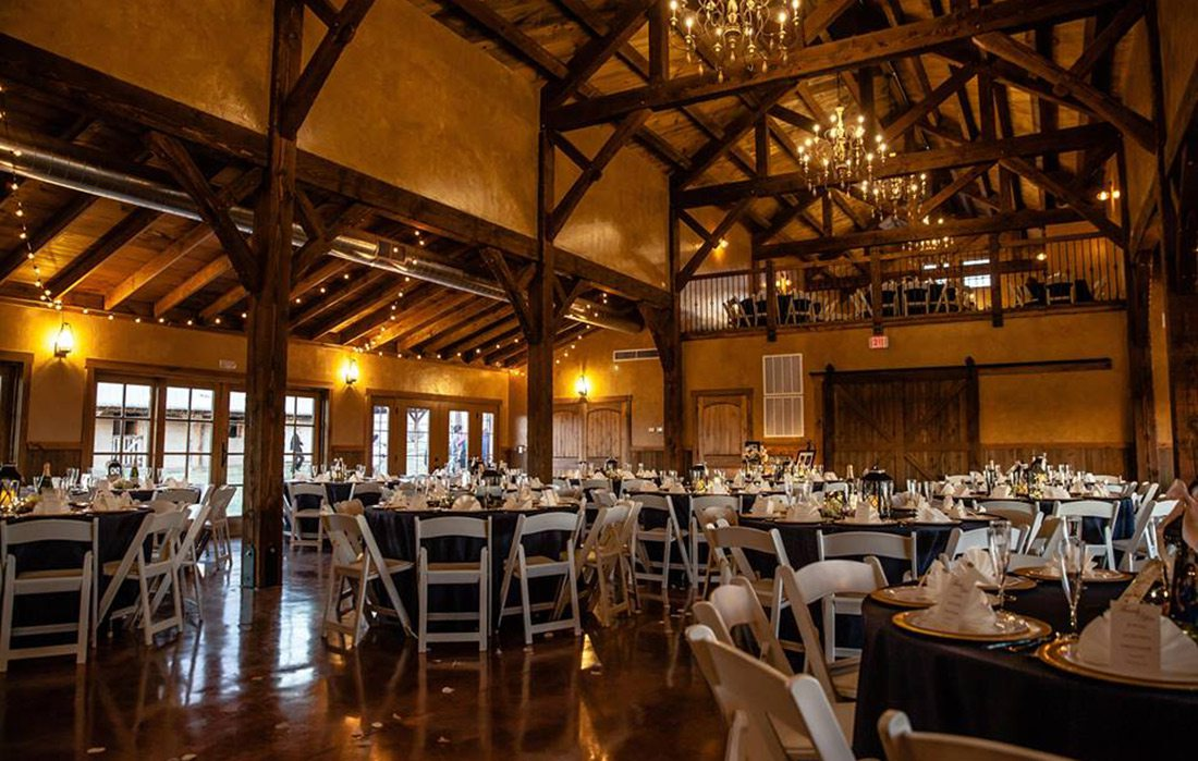 Event space at The Loft at Keith Farms in Ash Grove MO