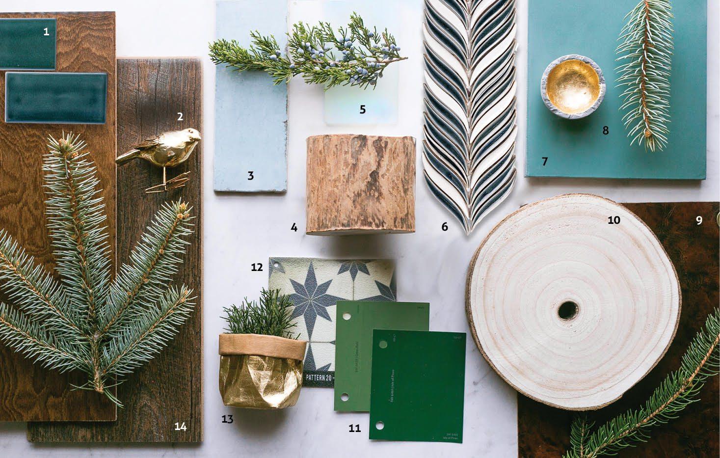 Evergreen Mood Board