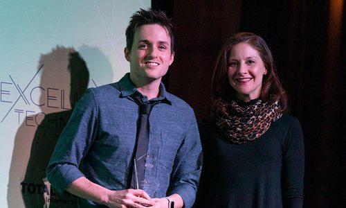 Jordan Morgan, Biz 417 Excellence in Tech Developer of the Year