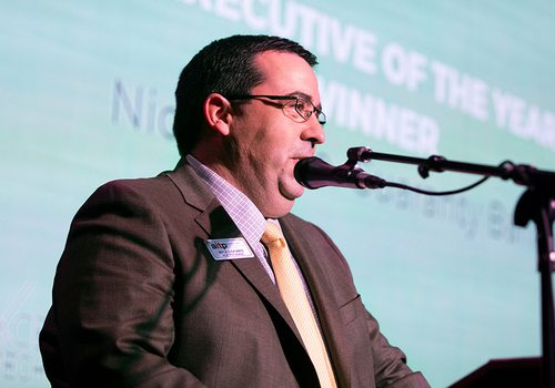 Nick Lofaro, Vice President and Chief Technology Officer at Guaranty Bank and the IT Executive of the Year
