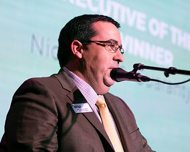 IT EXECUTIVE OF THE YEAR Nick Lofaro, Vice President and Chief Technology Officer, Guaranty Bank