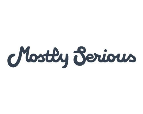 Mostly Serious logo