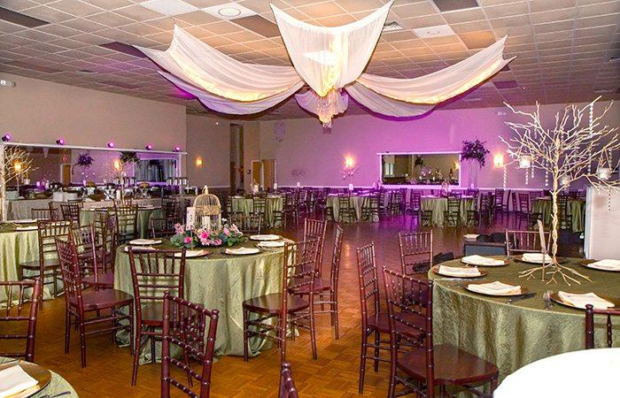 wedding banquet room