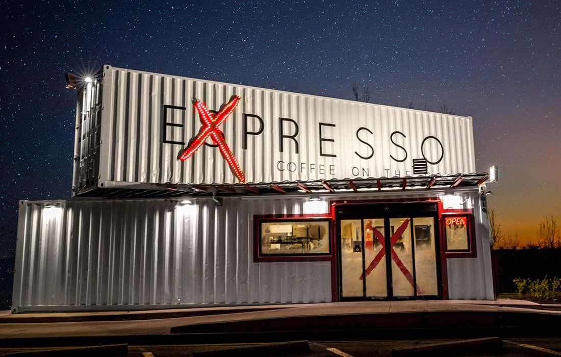 Exterior of Expresso Branson