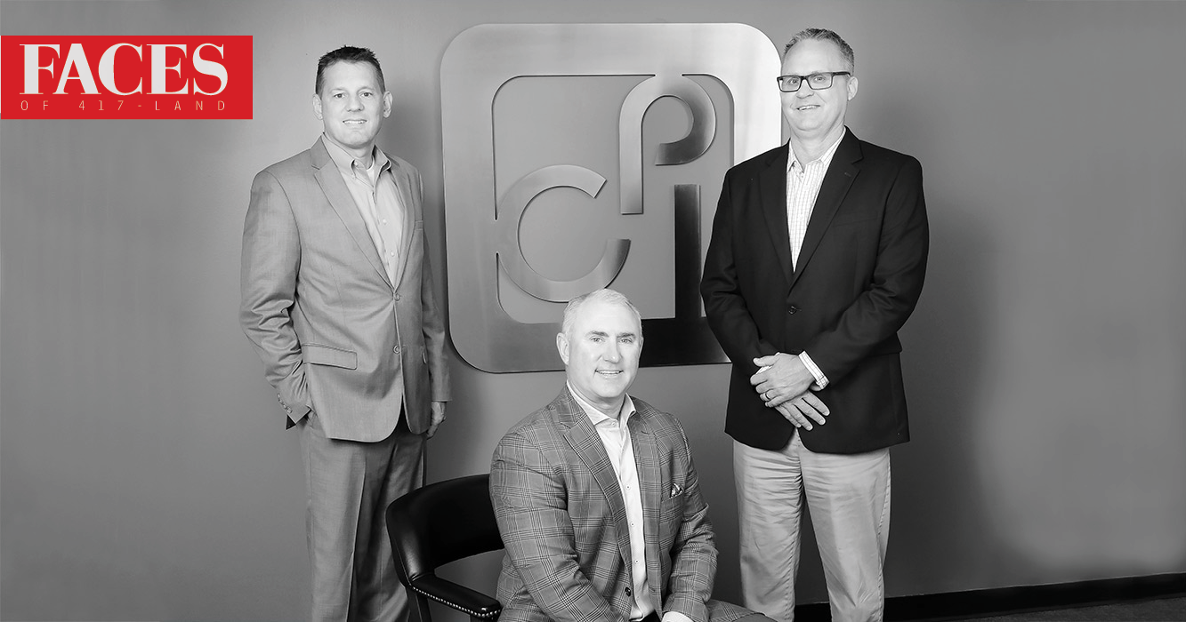 Rob Kassing, Erik Crane, Greg Gurke of CPI Technologies in Springfield MO