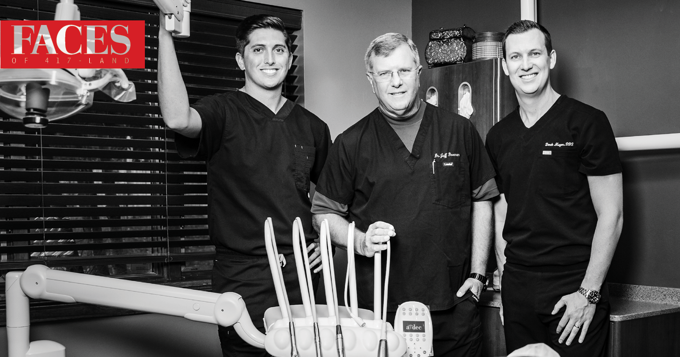 Brandon Kratz, Jeffrey Dorman and Derek Magers of Ascend Dental Design in Springfield MO