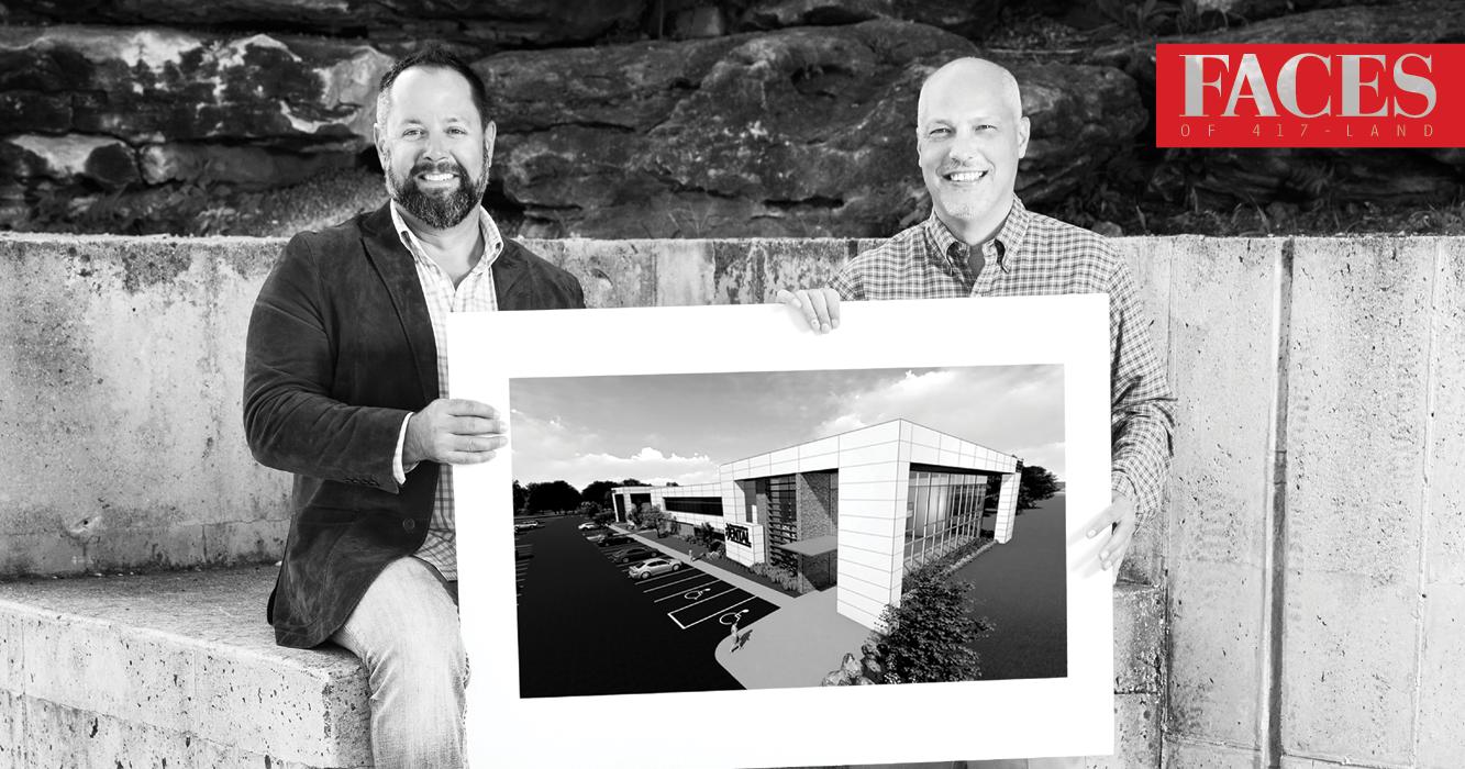 Dusty Emmert and Steve Retherford of Larry Snyder & Co in Ozark MO
