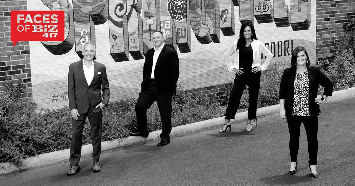 Mark Harrington, President and CEO; Ryan Sutherland, SVP & Senior Commercial Lender; Connie Gold, VP, Private Banking; Jessica Sims, VP, Business Development Officer
