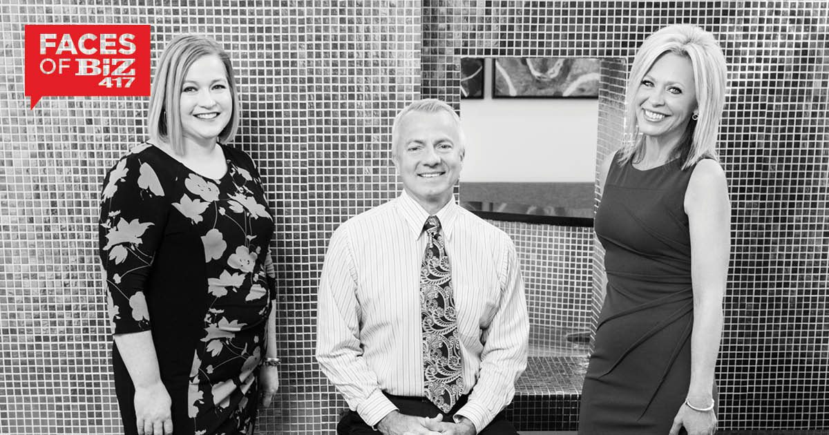 Sarah DeGuire, John Blansit and Missy Handyside-Chambers of Oasis Hotel and Convention Center in Springfield MO