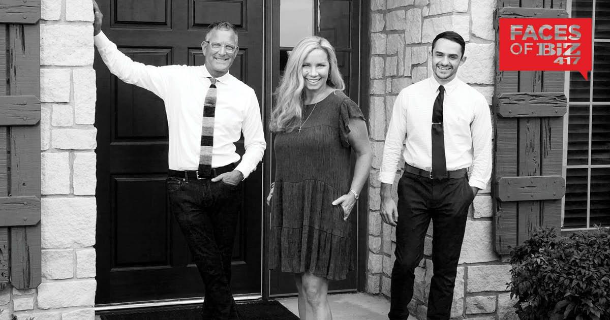 Brett Baker, Bev Baker, Aaron Solari of TrustPoint in Springfield MO
