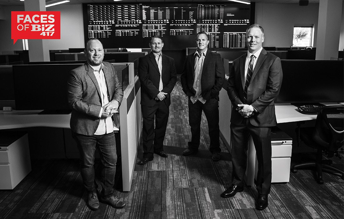 Andy Whaley, Chief Growth Officer Thomas Douglas, CEO Brad Prost, Account Executive Chris Huels, President