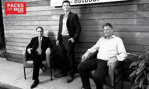 Jeff LaRocca, Stuart Lipscomb, Larry Lipscomb of Pioneer Outdoor in Springfield MO