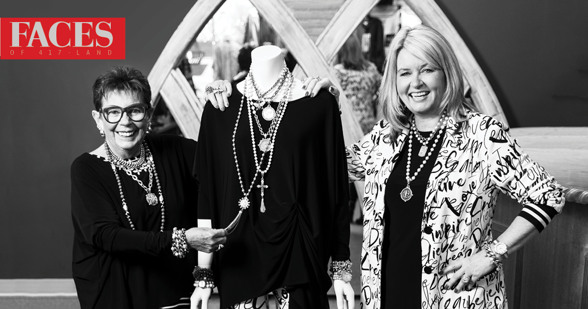 Ellie Forte and Anette Tuxen of Fashion House in Branson MO