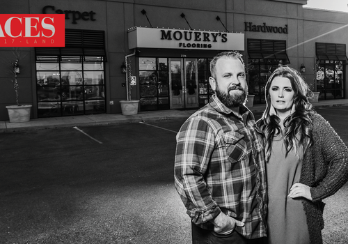 Rick & Elisabeth Mouery of Mourey's Flooring in Springfield, MO