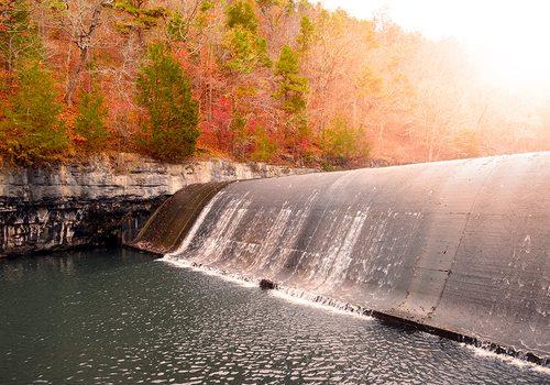 Noblett Lake dam photo