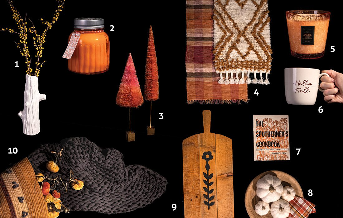 Fall home decor items from Southwest Missouri boutiques