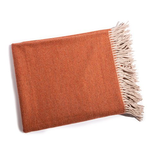 Tartini throw in copper at James Decor