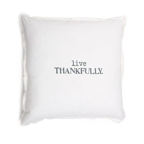 Thankful Pillow at House Counsel