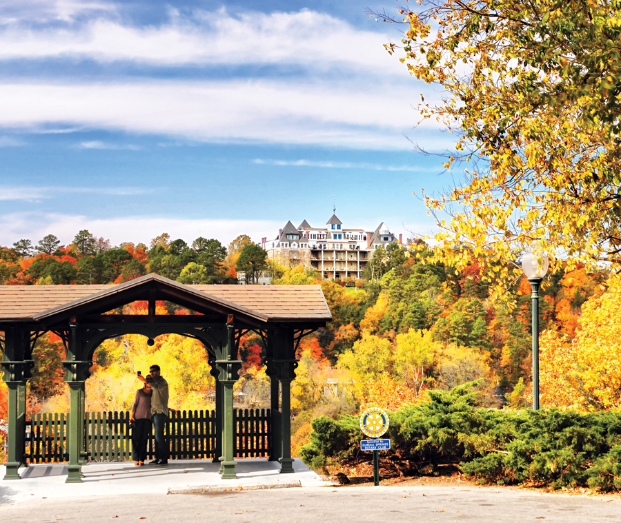 Leave the 417 for a weekend in the 479 to see stunning leafy vistas this autumn.