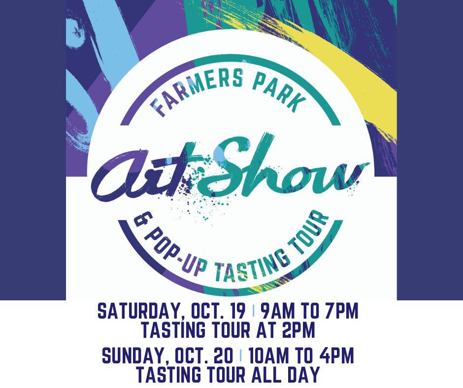 Farmers Park Art Show & Pop-up Tasting Tour Springfield MO