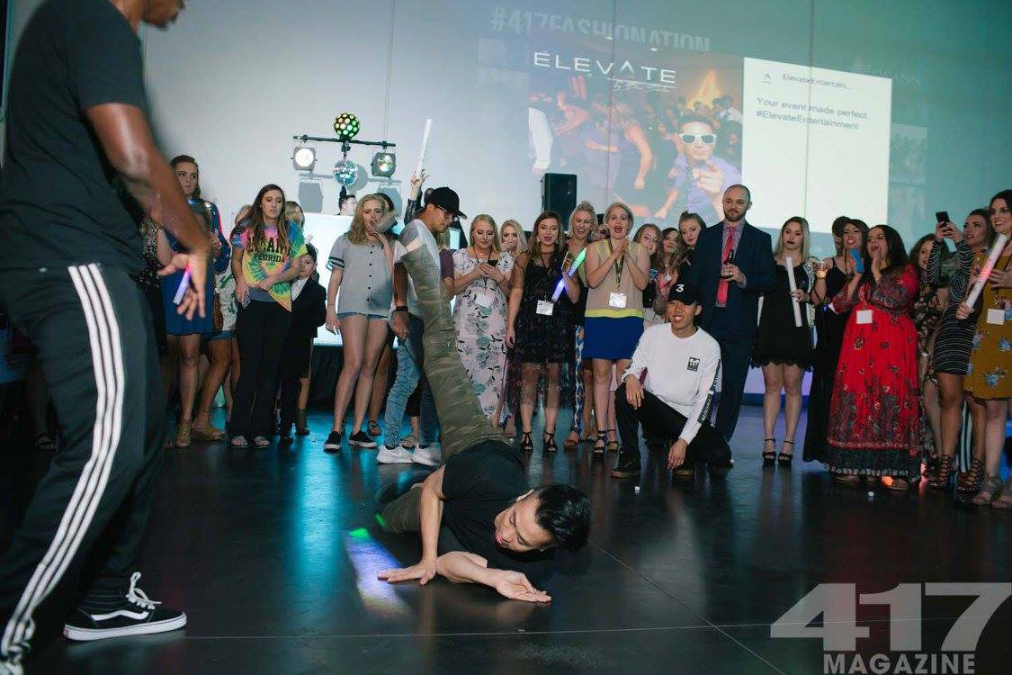 Break Dancers at Fashionation 2017