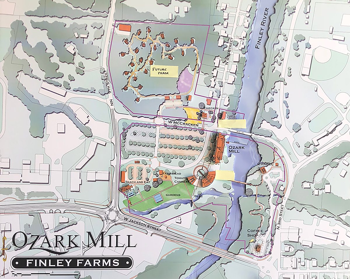 Ozark Mill Finley Farms Project Plans