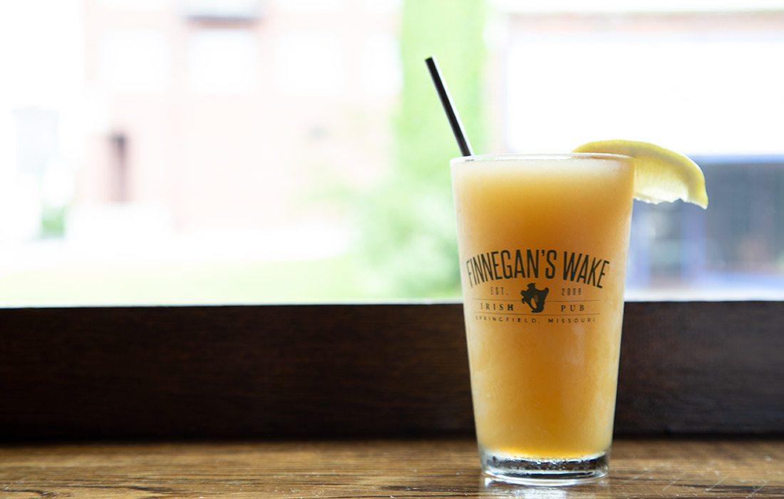 Bourbon Slush at Finnegan's Wake