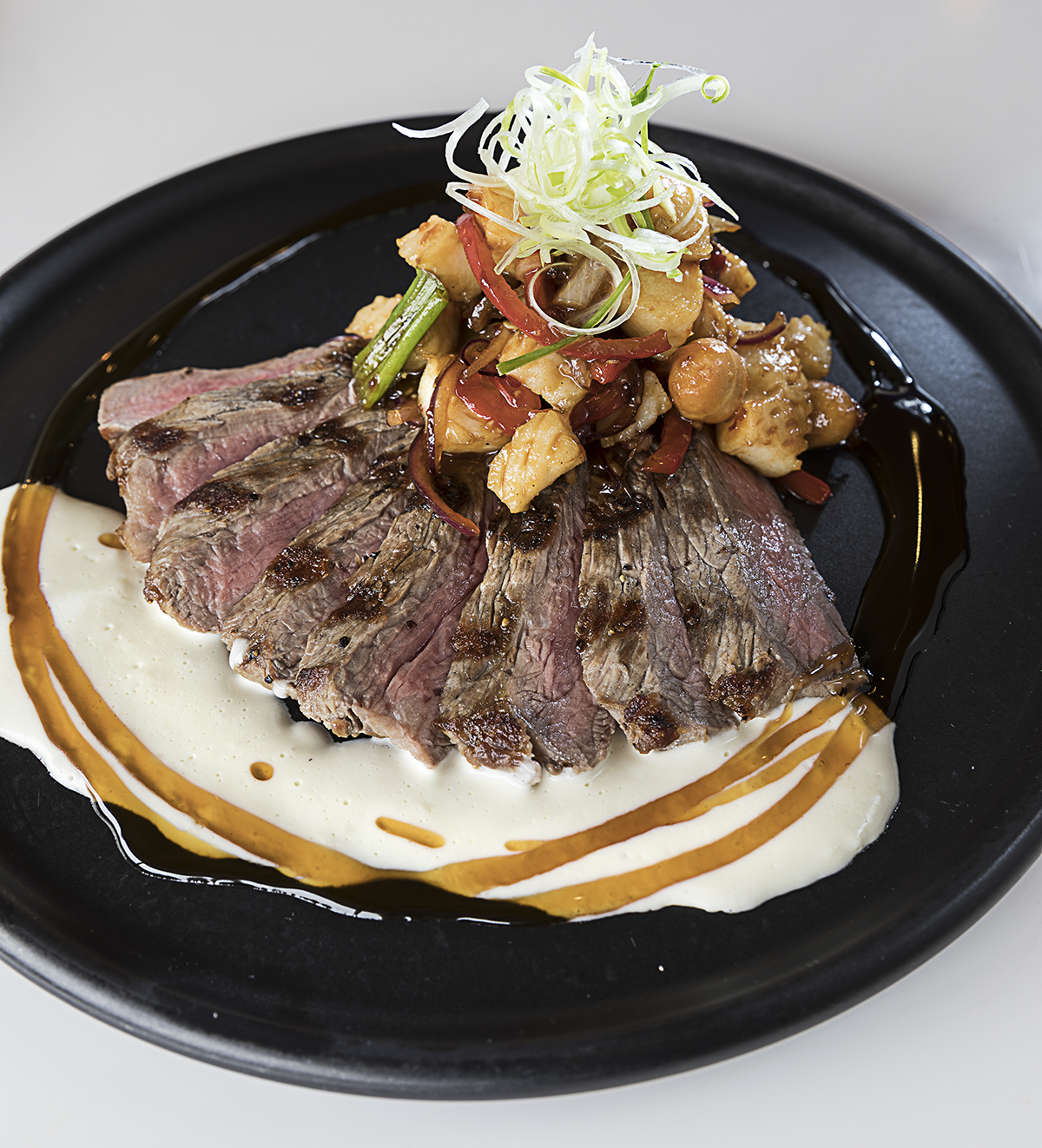 Fire-Grilled Prime New York Strip