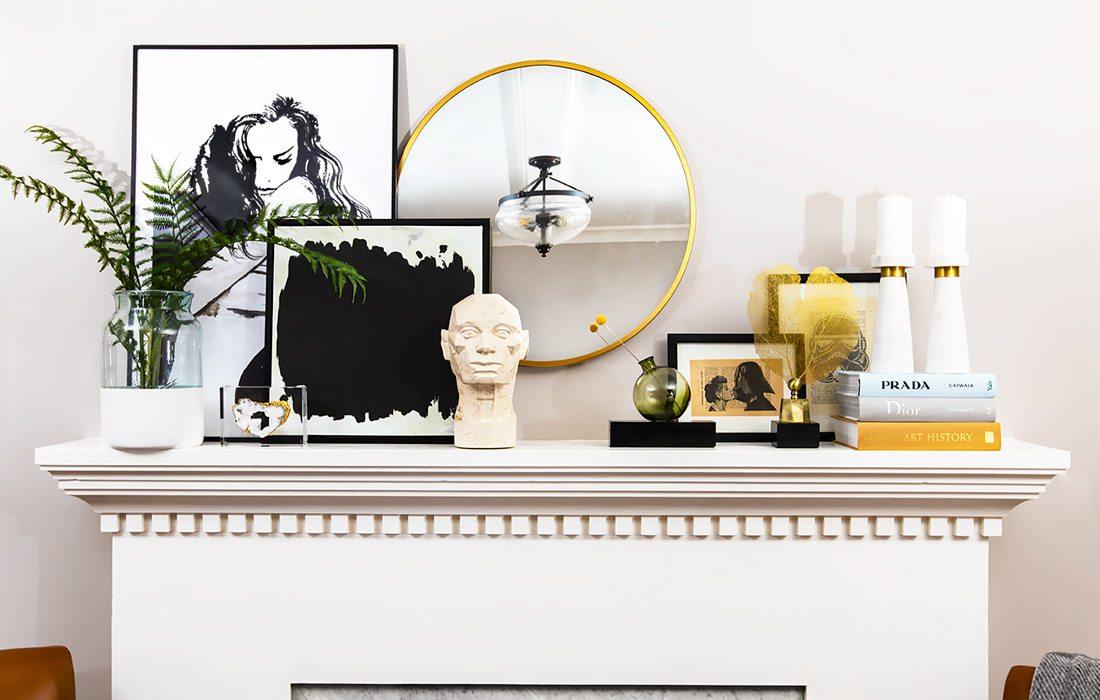 Fireplace decor header image