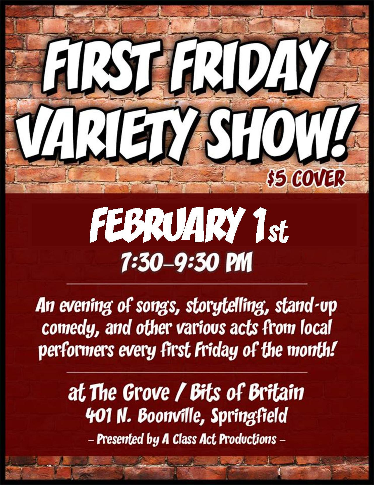 Live Comedy and Music in Springfield MO