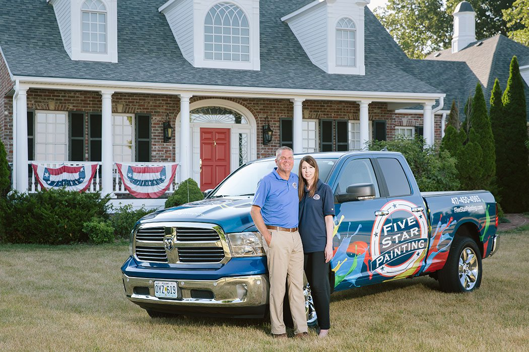 Doug and Andrea Windsor of five star painting