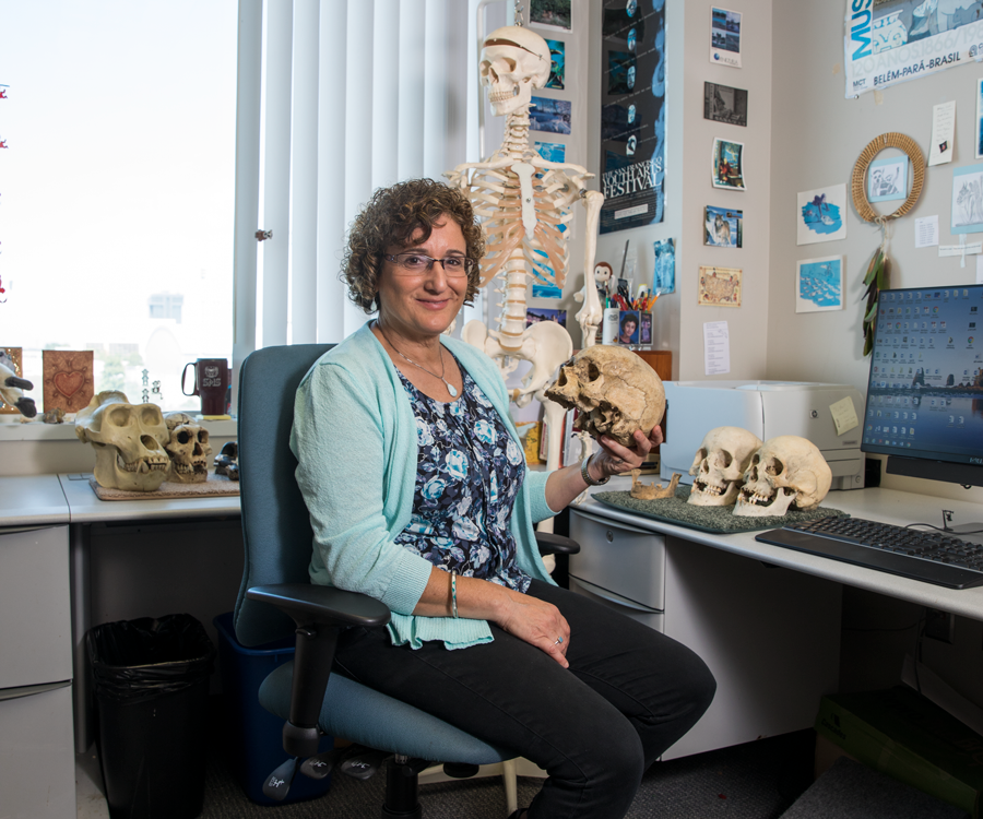 Suzanne Walker-Pacheco found her passion for anthropology in college.